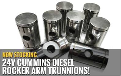 Now Stocking 24V Cummins Diesel Rocker Arm Trunnions!
